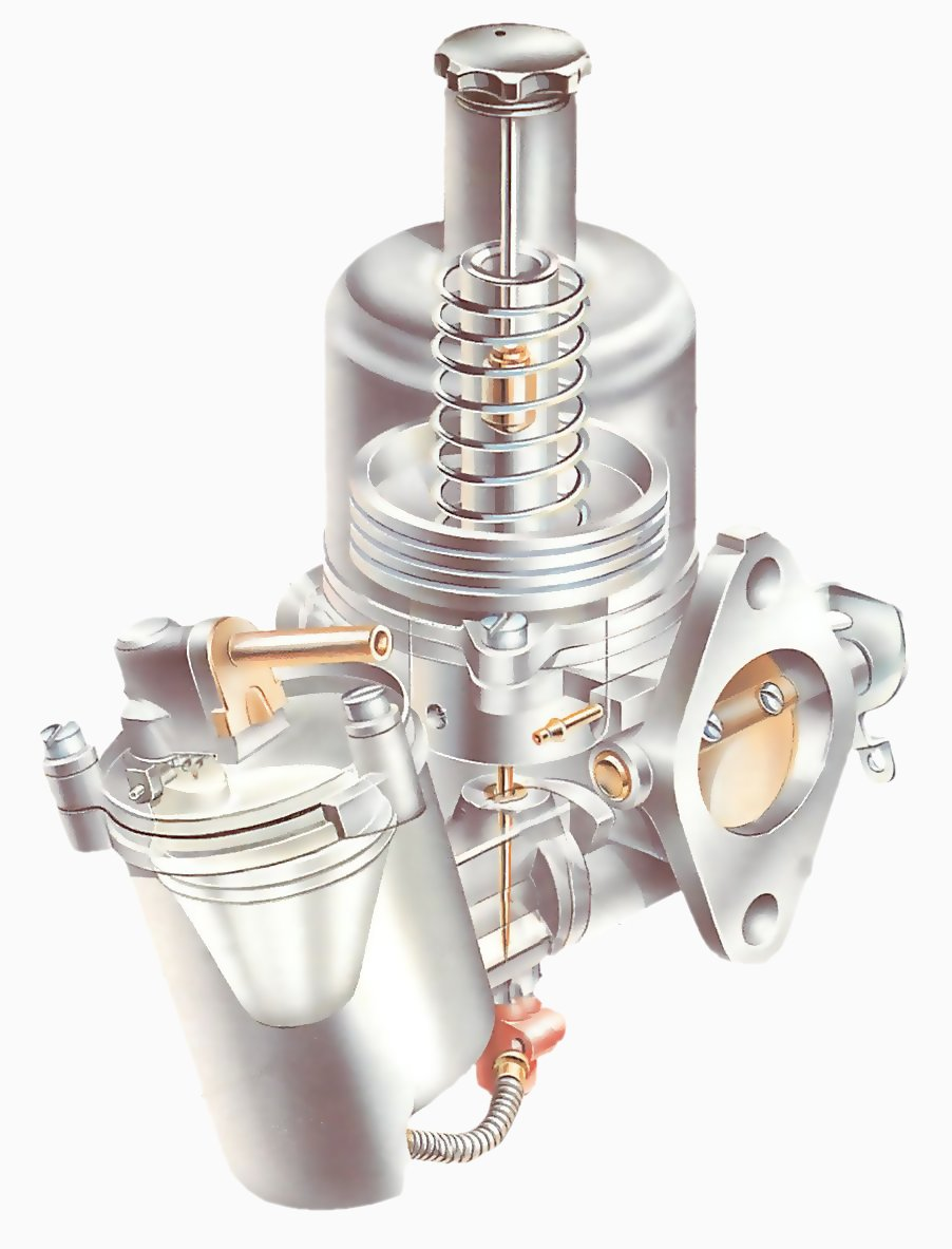 hight resolution of how variable jet carburettors work