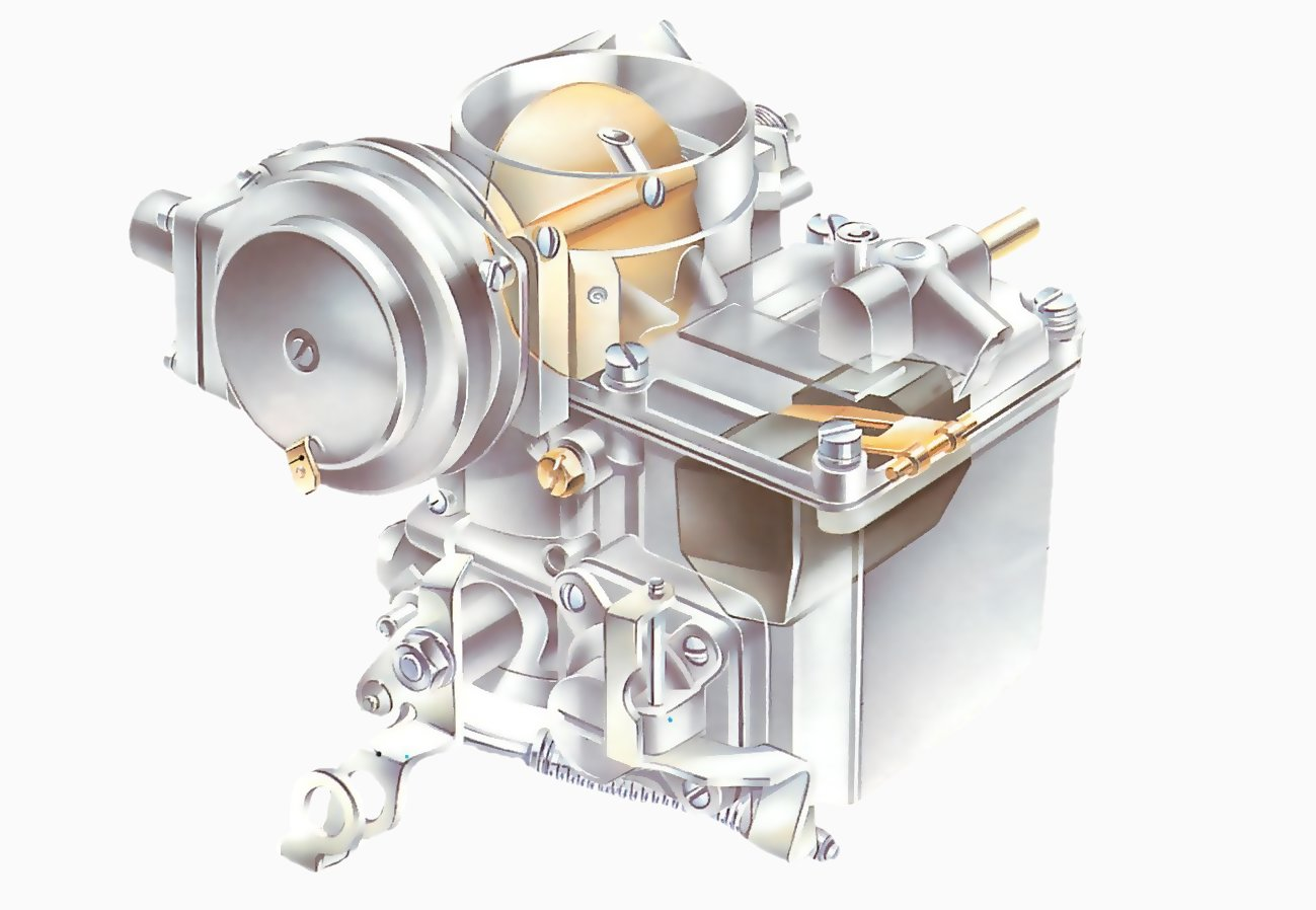 hight resolution of how the fuel system works fixed jet carburettors