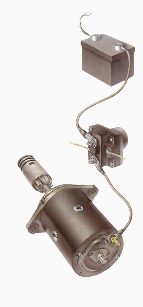 small resolution of chevy full size engine starter ignition wiring harnes