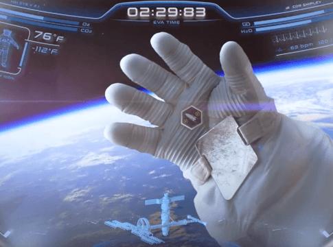 Futuristic Astronaut Helmet Design Inspired From Iron Man