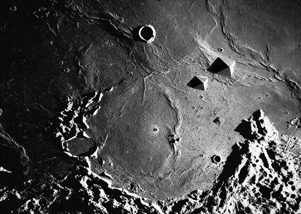 Alien Bases On Moon