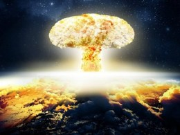 Nuclear Bomb Exploded In Space