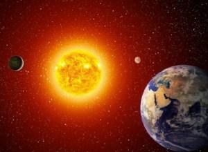 Sun-sized Earth