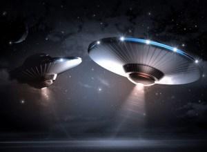 Moon-Sized UFO
