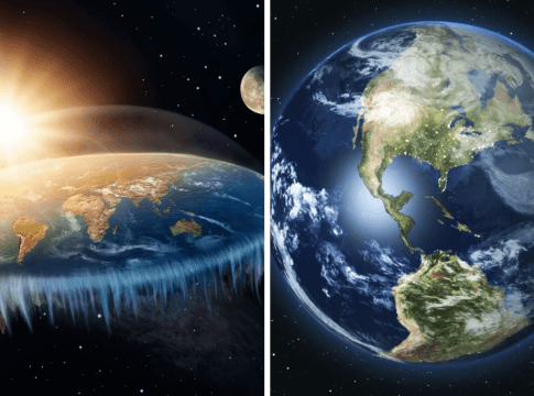 Earth Is Both Flat And Sphere