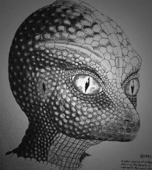 reptile-looking aliens