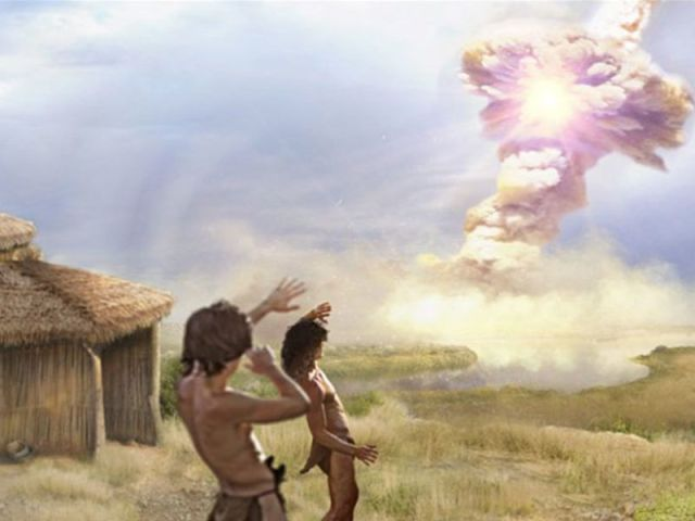 comet strike 13000 years ago
