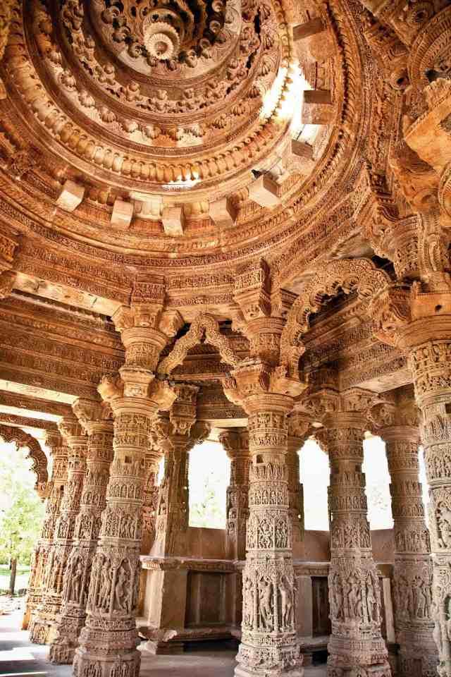 Interior of Sun temple
