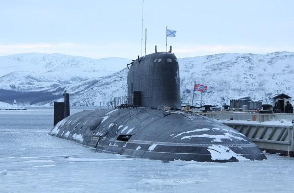 Russian submarine Severodvinsk (K-560)