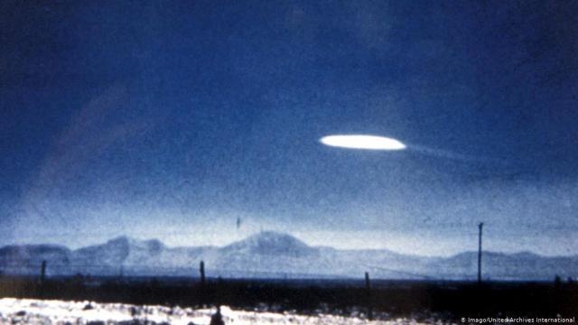 New Mexico 1957 UFO photo