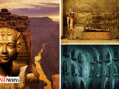 Ancient Underground Egyptian Tomb in Grand Canyon