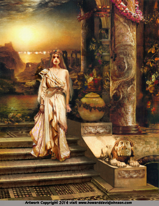 Greek Myths Legends Paintings of Classical Mythology