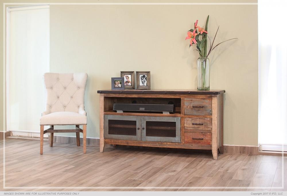 Multi Color TV Stand Howard Hill Furniture