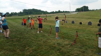 Howard County Conservancy offers archery at Mt. Pleasant's summer nature camp