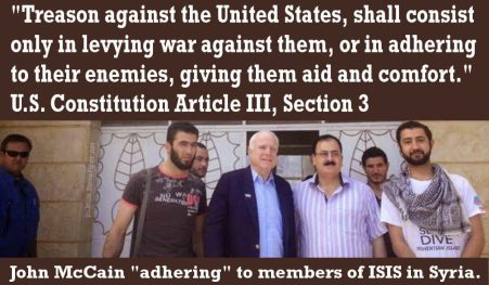 MCAIN WITH TERRORISTS