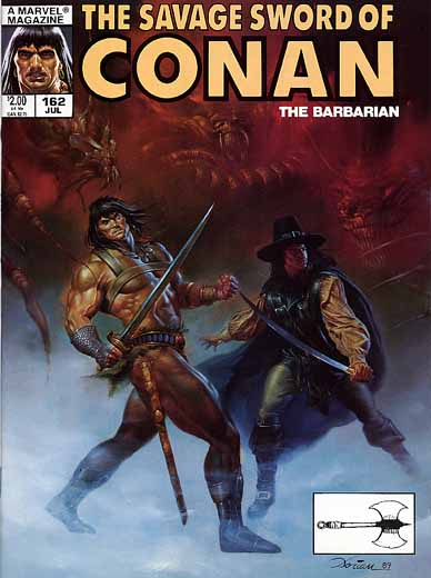 The Savage Sword of Conan 162  Marvel Comics