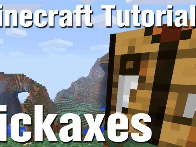Minecraft Tutorial: How to Make a Pickaxe in Minecraft - Howcast