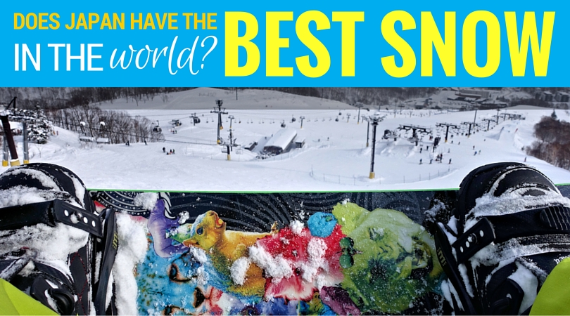 Japan is home to the most ski mountains in the world, but how's the snow? Here's what it's like skiing and snowboarding in Japan and how to plan your trip. #japan #skiing #snowboardign #skijapan #travel