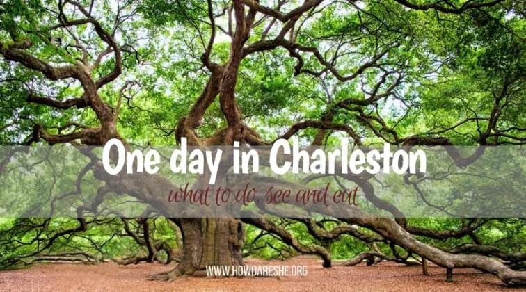 Day trip Charleston