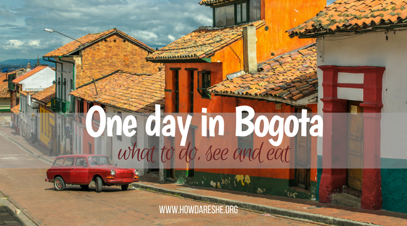 one day in bogota colombia