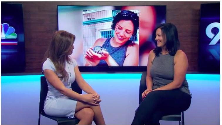 Jessica Elliott of How Dare She - talking travel on NBC