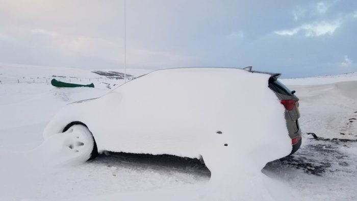 driving in Iceland in the winter, Iceland in December