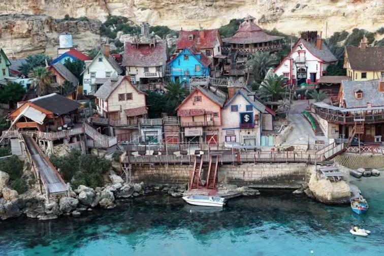 Malta micronation Popeye Village