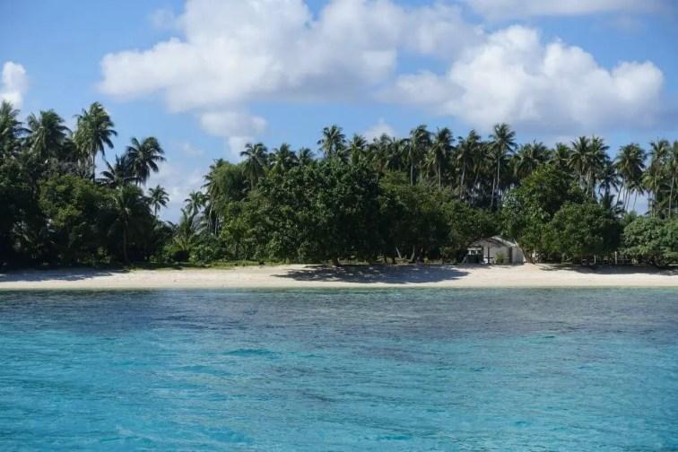 Marshall Islands near Majuro