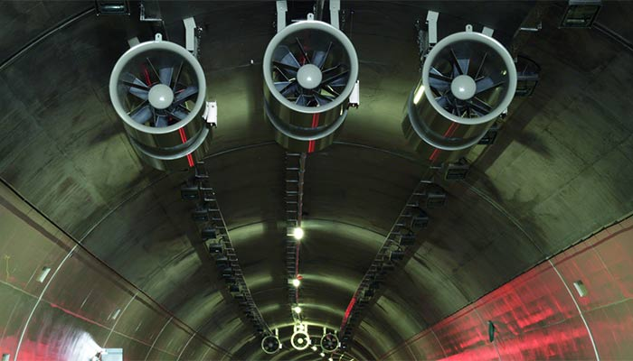 tunnel ventilation tunnels howden