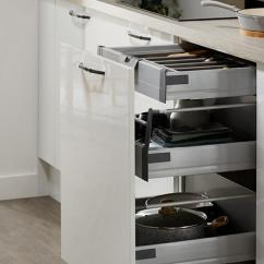 Kitchen Drawer Area Rugs For Under Tables Storage Solutions Pull Out Howdens Greenwich Gloss White Cutlery 1