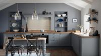 Fairford Slate Grey Kitchen | Fitted Kitchens | Howdens