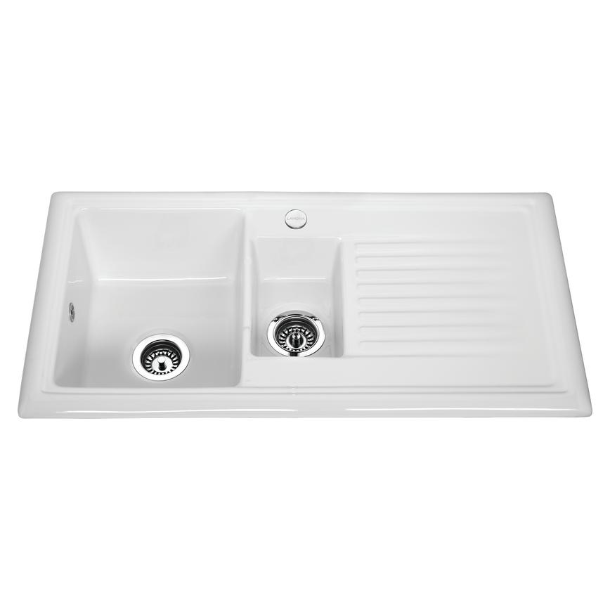 cheap kitchen sink and tap sets ge appliance packages sinks ceramic stainless steel howdens 3971 cmyk rt2 no