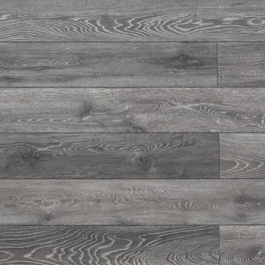 Howdens Premium Professional Fast Fit V Groove Dark Grey Oak Laminate Flooring 1 48m Pack Howdens