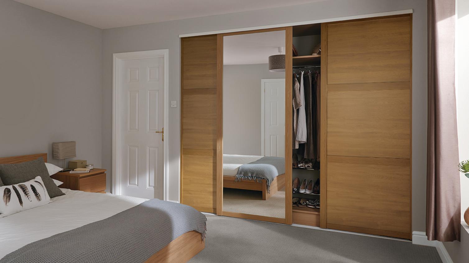 Sliding wardrobe  Doors  Howdens
