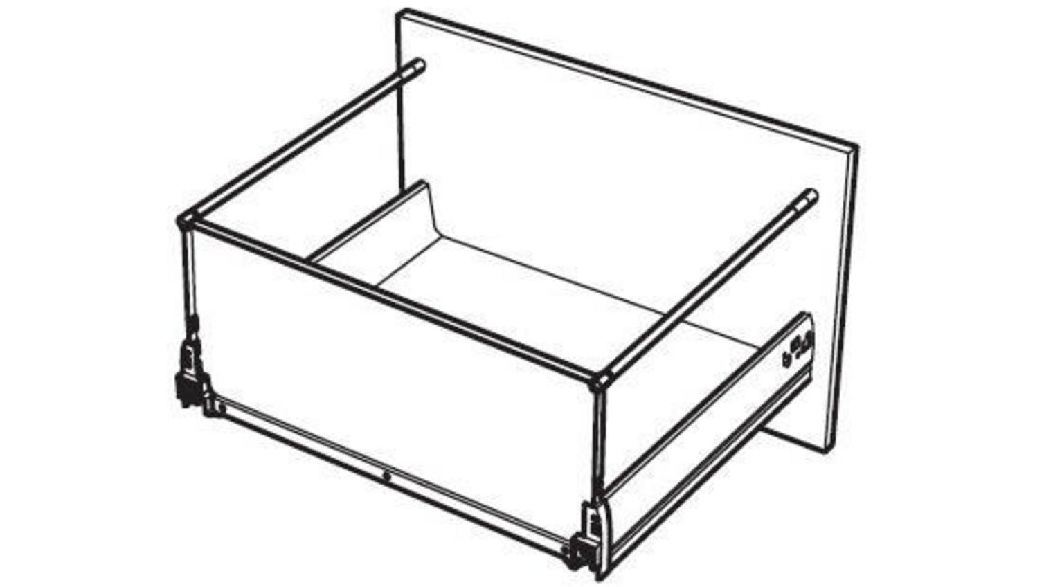 Drawer Box Support Rods Pack Of 2