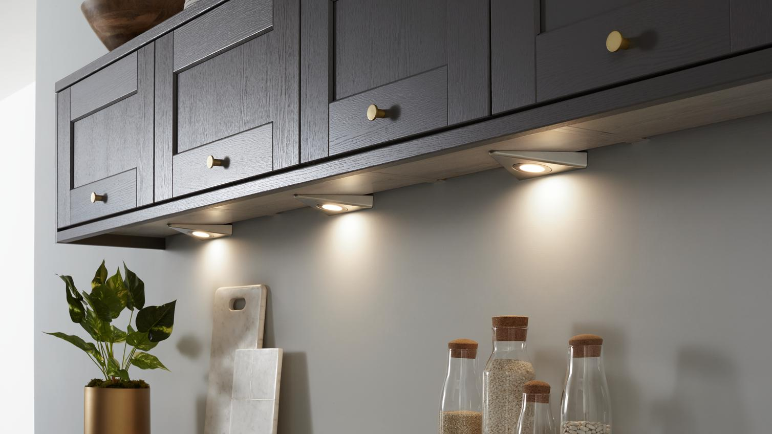 Kitchen Lighting  LED Cabinet  Downlighters  Howdens
