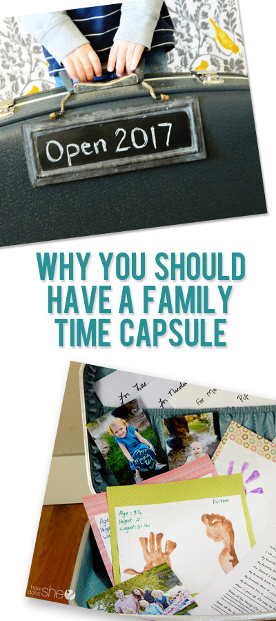 Why You Should Have a Family Time Capsule pinterest