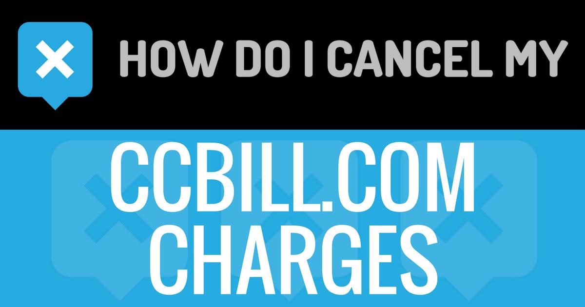 Ccbill cancellation