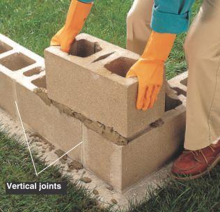 How to Lay Concrete Block9