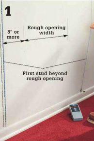 Mark the width