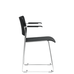 david rowland metal chair folding chairs at sam s club the 40 4 by is first truly stackable stack armchair