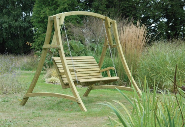 swing chair garden uk special needs with tray seat furniture