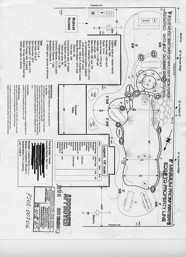 pool schematic drawings