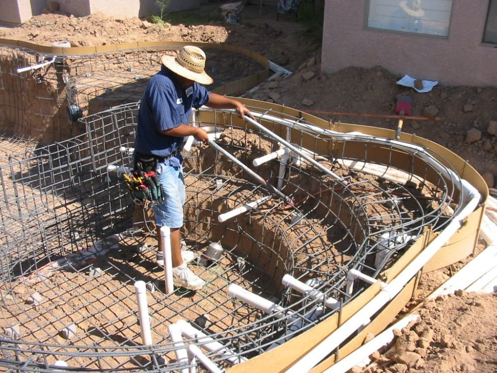 medium resolution of build your own pool how i built my own swimming pool how to build