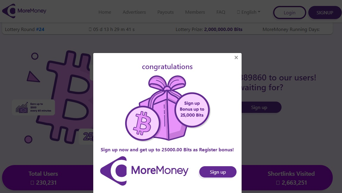 MoreMoney Review