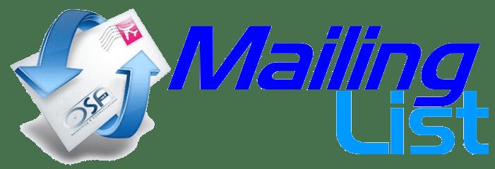 Resultado de imagem para Mailing List