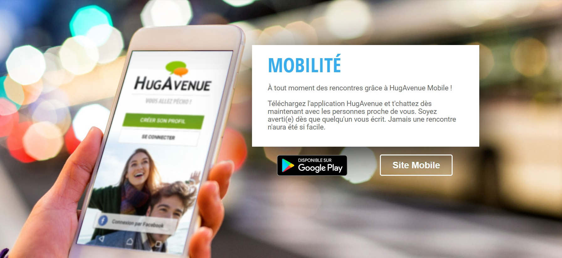 Application HugAvenue