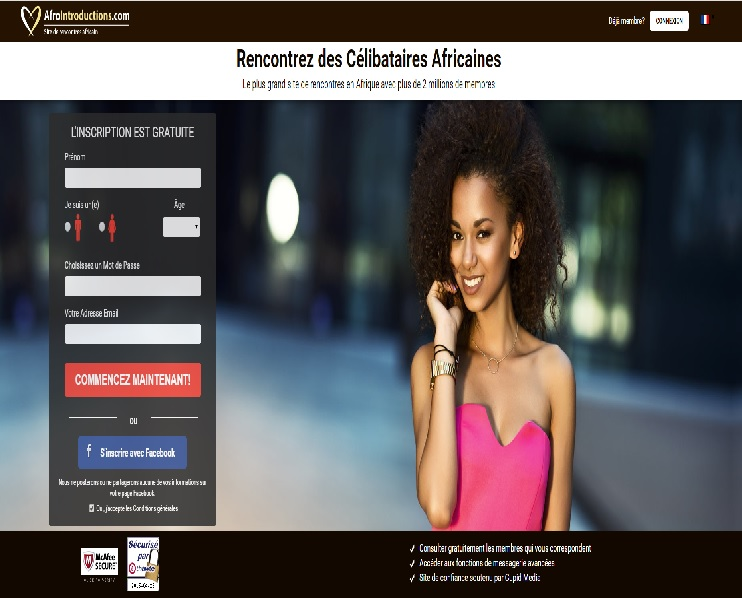Afrointroductions.com Registration / Afrointroductions ...