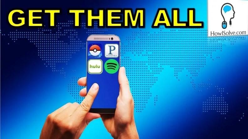 Chage Google Play Region US, UK, Germany, Japan or Anything Install Apps like PokeMon Go Anyweher howisolve