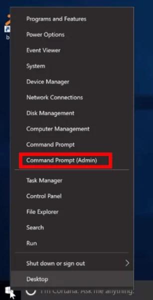 Command Prompt (Admin)